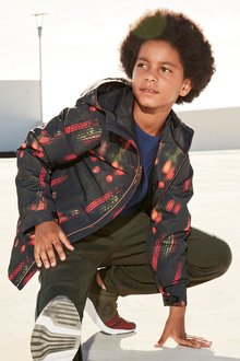 Next Multi Sporty Printed Anorak (3-16yrs)
