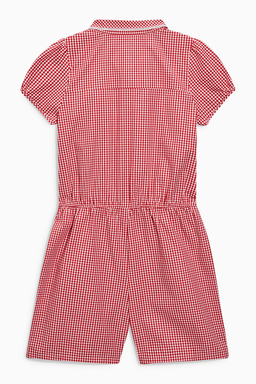 Next Gingham Playsuit (3-14yrs)