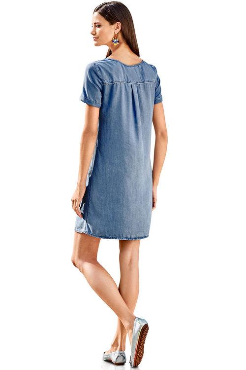 Heine 100% Tencel Shift Dress