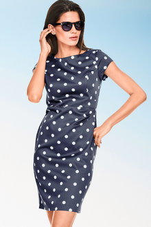 Heine Polka Dot Sheath Dress