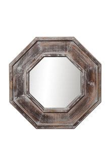Kaia Timber Mirror