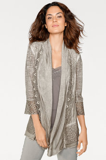 Heine Embroidered Lace Cardi