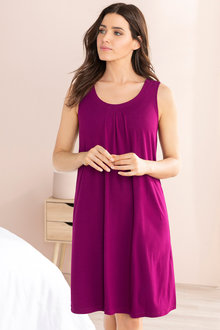 Mia Lucce Pleat Front Nightie