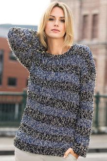 Heine Mixed Yarn Sweater