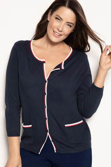 Plus Size - Sara Chanelle Cardigan