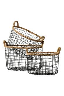 Hollis Oval Basket Set of 3