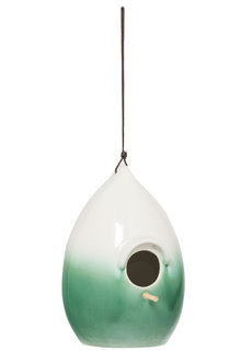 Teo Ceramic Birdhouse