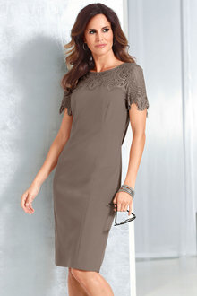 Capture European Lace Detail Dress