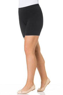 Plus Size - Sara Anti Chafing Shorts - 178506