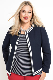 Plus Size - Sara Boxy Jacket