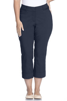 Plus Size - Sara So Slimming Smart Crop
