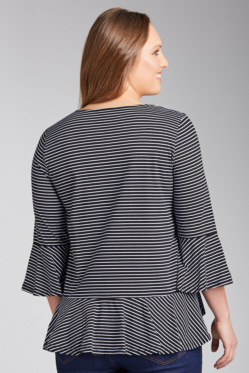 5798c8a1d664a Plus Size - Sara Bell Sleeve Top