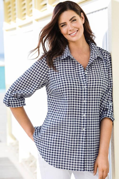 Sara Crush Voile Shirt