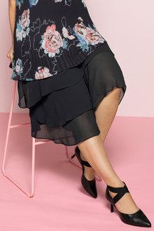 Plus Size - Sara Ruffle Layer Skirt