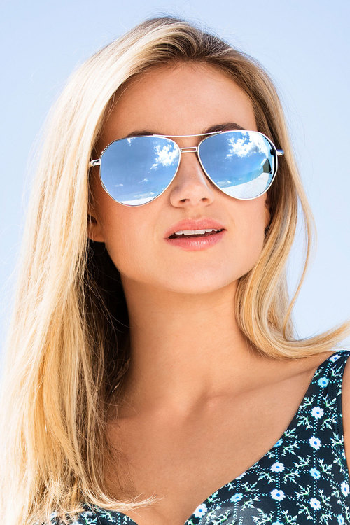 Valencia Aviator Sunglasses