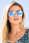 Valencia Aviator Sunglasses