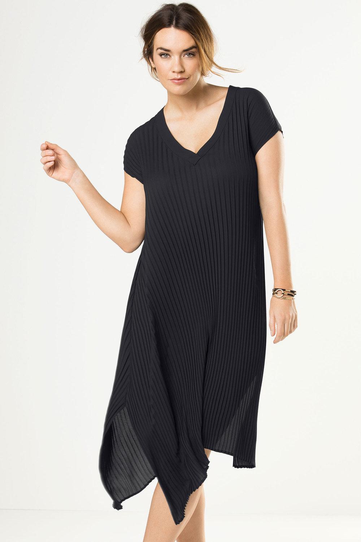 Plus Size - Sara Pleated Dress dd5488fd7