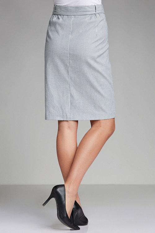 Plus Size - Sara Stripe Skirt