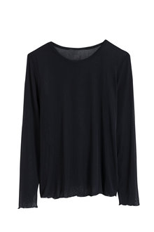 Capture Tulle Long Sleeved Layering Top