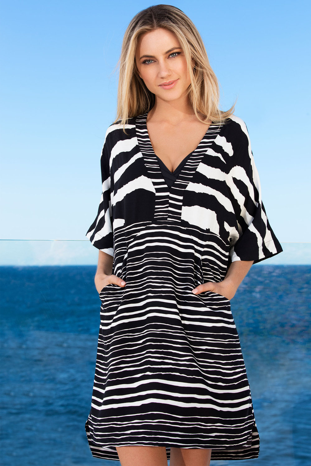 465022bd60 Capture Swimwear Woven Cover Up Online | Shop EziBuy
