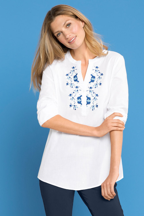 Capture Embroidered Shirt