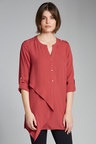 Capture Drape Front Shirt