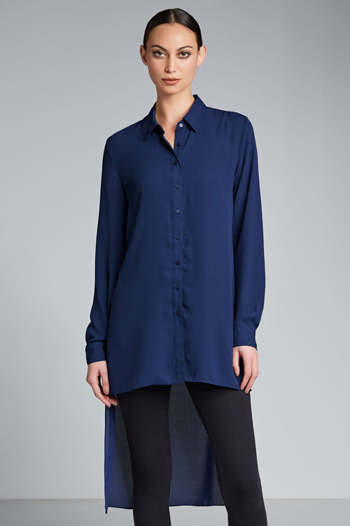 Capture High Low Hem Shirt