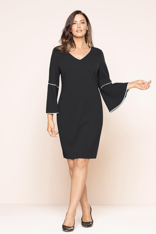 53326dcc823 Plus Size - Sara Bell Sleeve Dress
