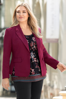 Plus Size - Sara Stretch Blazer