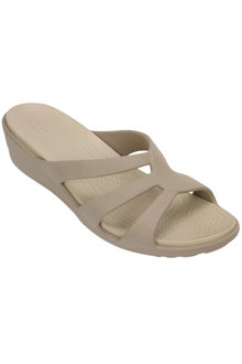Crocs Sanrah Strappy Wedge