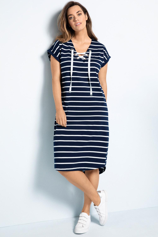 3ed4ff74e97 Plus Size - Sara Eyelet Knit Dress