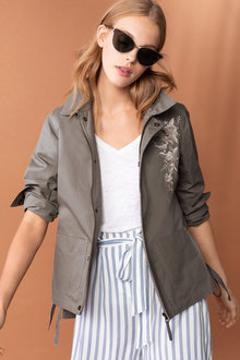 Emerge The Feminine Utility Jacket - 178783