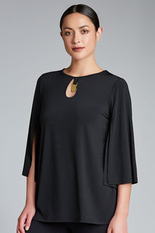 Capture Trim Neck Top
