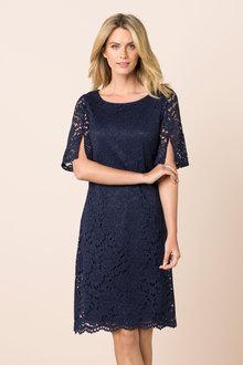 Capture Lace Shift Dress