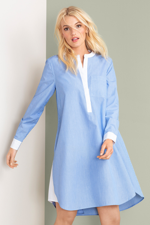Emerge Swing Shirt Dress
