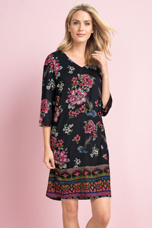 Capture Print Knit Dress - 178846