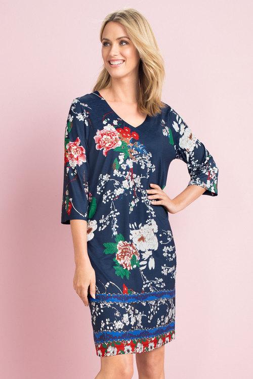 Capture Print Knit Dress