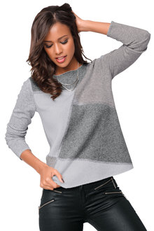 Heine Colour Block Sweater - 178857