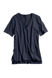 Capture Slouchy V Neck Essential Tee - 178875