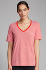 Capture Slouchy V Neck Essential Tee