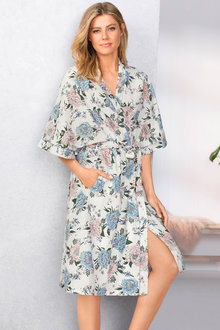 Mia Lucce Linen Robe
