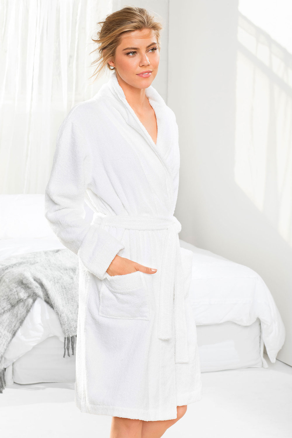 Mia Lucce Towelling Robe Online  8d48fb997