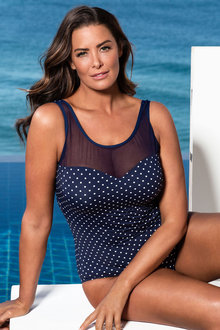 Plus Size - Quayside Woman Mesh Swim Suit