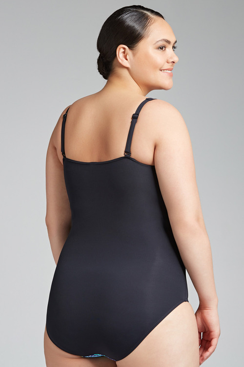 Quayside Woman Twist Front Swimsuit