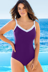 Quayside Woman Sports Swimsuit