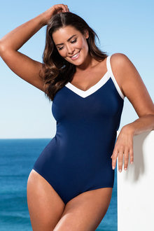 Plus Size - Quayside Woman Sports Swimsuit