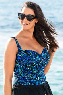 Quayside Woman Tankini Twist