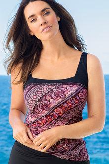 Plus Size - Quayside Woman Square Tankini Top