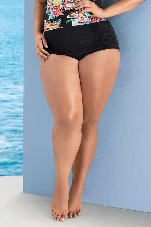 Plus Size - Quayside Woman Swim Briefs