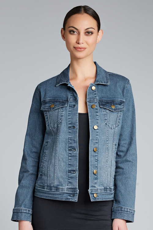 Capture Coloured Denim Jacket